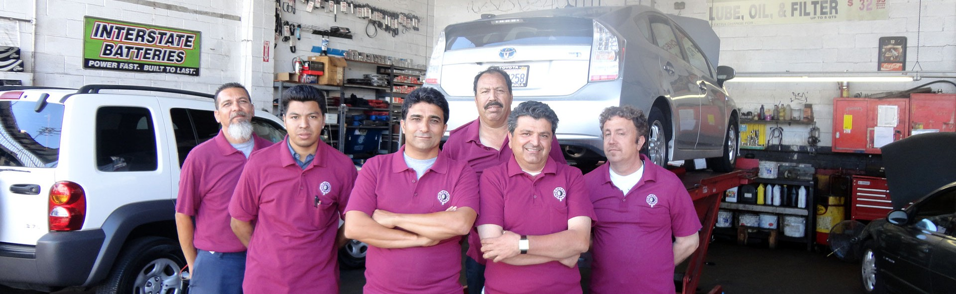 Auto repair shop Los Angles